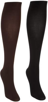 Legacy Control Top Soft Touch Opaque Tights Set of Two