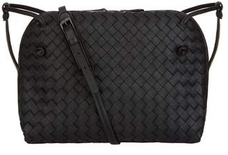 Bottega Veneta Leather Double Nodini Cross Body Bag