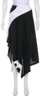Y-3 Colorblock Midi Skirt