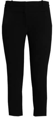 Dion Lee Cropped Wool-Crepe Skinny Pants