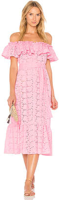 Lisa Marie Fernandez Mira Button Down Dress in Pink $875 thestylecure.com
