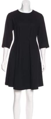 Alani The Grey Long Sleeve Flare Dress w/ Tags