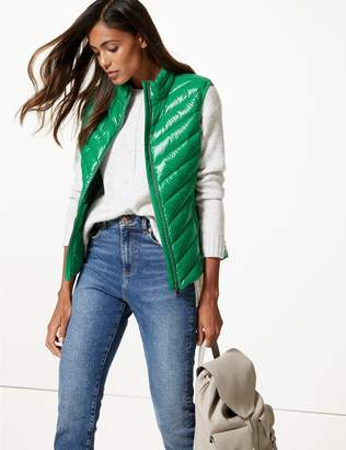 Marks and Spencer Padded Down & Feather Gilet with Stormwear