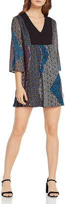 BCBGeneration Gypsy Patchwork Print Trapeze Dress $78 thestylecure.com