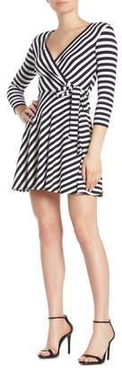Bailey 44 Dry Dock Stripe Fit & Flare Dress