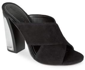 KENDALL + KYLIE Karmen Suede Open Toe High-Heel Sandals