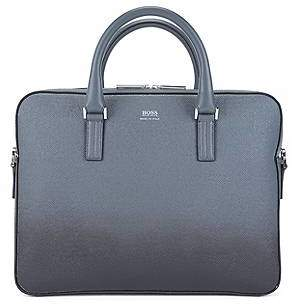 HUGO BOSS Signature Collection bag in dégradé palmellato leather