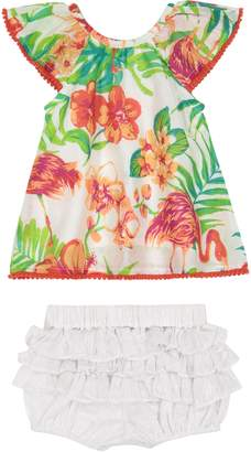 Masala Baby Flutter Tunic & Bloomers Set