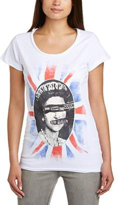 Amplified Women's Sexpistols Queen Short Sleeve T-Shirt,(Manufacturer Size:X-Large)