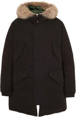 Yves Salomon Paris Doudoune Fur-Lined Shell Down Coat