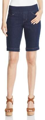 Jag Jeans Ainsley Bermuda Shorts in Dark Shadow