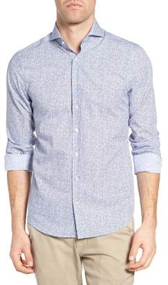 Gant Action Art Print Fitted Sport Shirt