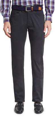 Peter Millar Bedford Five-Pocket Pants, Navy