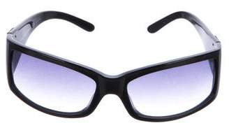 Dolce & Gabbana Gradient Rectangular Sunglasses