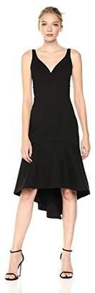 Adelyn Rae Women's Izabella Knit Ponte Midi Dress