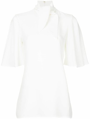 Ellery Salvador tie-neck blouse