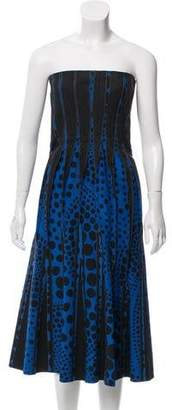 Bottega Veneta Strapless Paneled Dress w/ Tags
