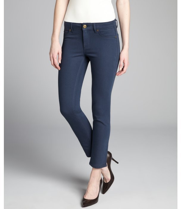 DL1961 PREMIUM DENIM INC cadet stretch denim mid-rise 'Angel' skinny ankle jeans