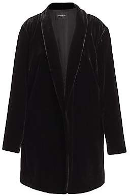 Lafayette 148 New York Lafayette 148 New York, Plus Size Lafayette 148 New York, Plus Size Women's Cecily Velvet Long Jacket