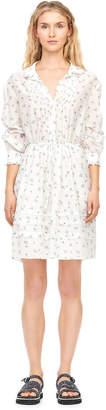 Rebecca Taylor Spring Floral Voile Shirtdress