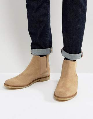 WALK LONDON Walk London Hornchurch Suede Chelsea Boots