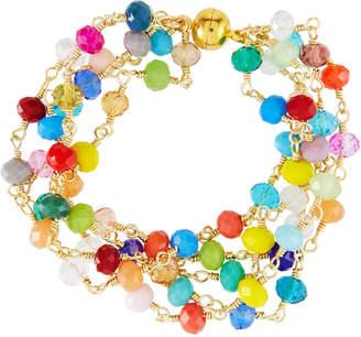 Panacea Multicolor Crystal Bracelet