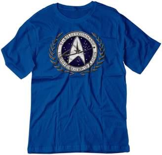 Ash BSW Men's Star Trek Starfleet Command Stone Logo Shirt 3XL