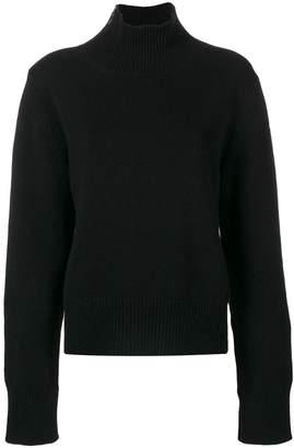Moncler high neck zip jumper