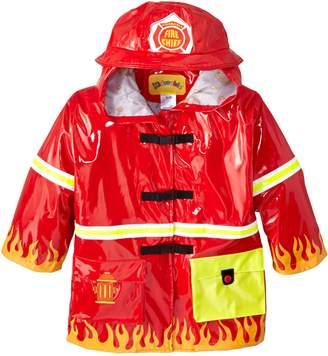 Kidorable Fireman Kids Rain Jacket, All Weather Raincoat