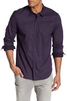 John Varvatos Patterned Slim Fit Shirt