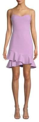 LIKELY Verona Asymmetric Flounce Dress