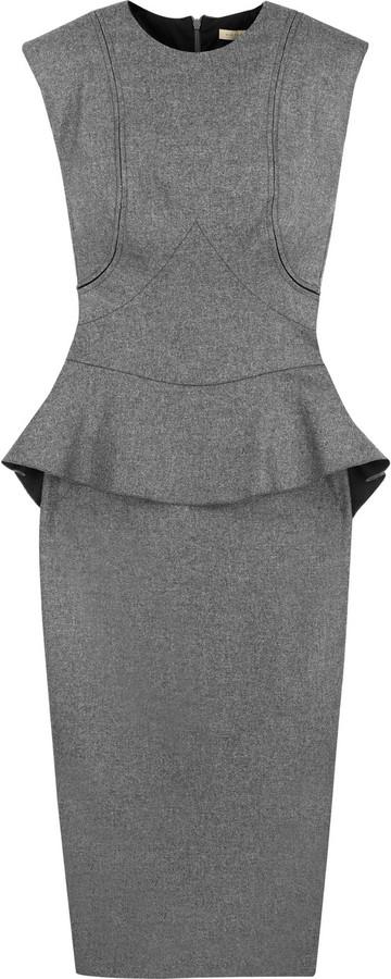 Victoria Beckham Carmontelle cashmere-blend dress