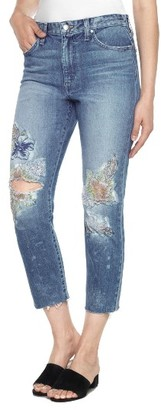 Women's Joe's Debbie High Waist Crop Straight Leg Jeans $248 thestylecure.com