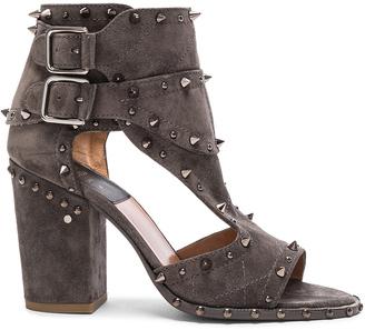 Laurence Dacade Suede Deric Heels $965 thestylecure.com