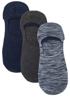 Frye Ludlow No-Show Spacedye Socks - Pack of 3