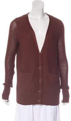 Alexander Wang Button-Up Knit Cardigan