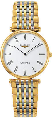 Longines Two-Tone Stainless Steel Analog Watch