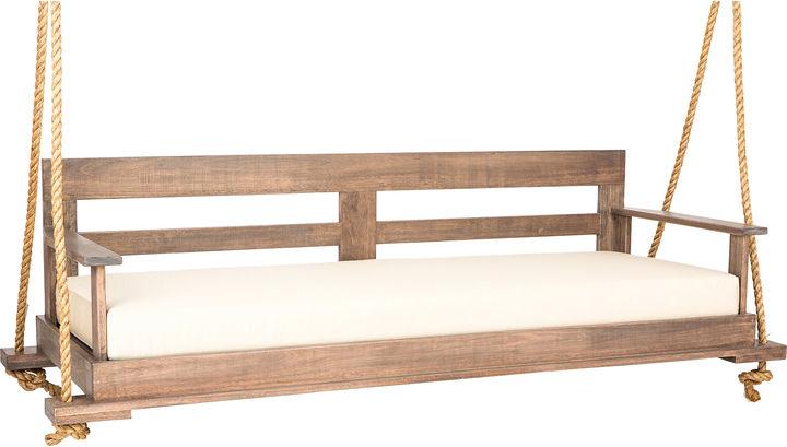 Southern Komfort Bed Swings Bed Swing, Weathered Brown/Sand