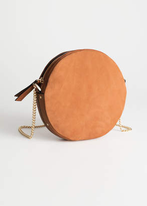 And other stories Small Leather Circle Bag