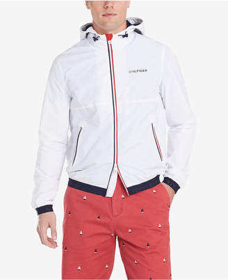 Tommy Hilfiger Men Park Full-Zip Rain Jacket