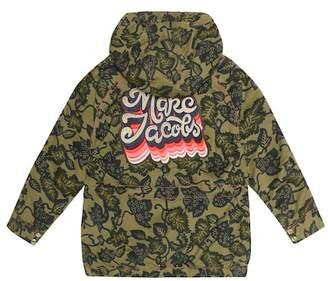 Little Marc Jacobs Appliquéd stretch cotton jacket
