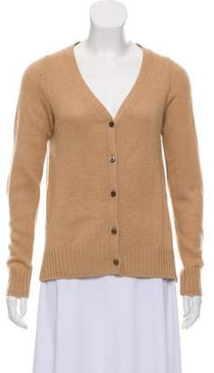 Prada Lightweight Knit Cardigan Brown Lightweight Knit Cardigan