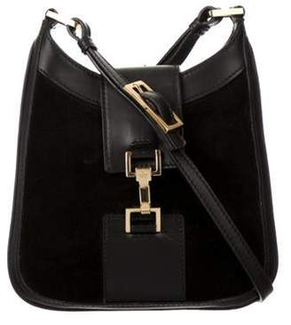 Gucci Suede Mini Jackie Bag Black Suede Mini Jackie Bag