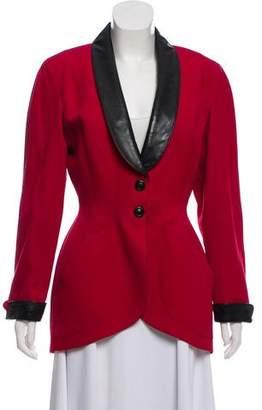 Thierry Mugler Vintage Wool Blazer