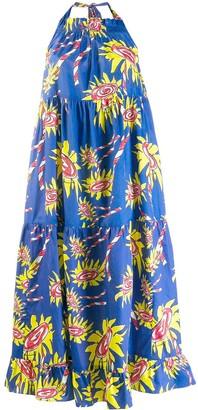 Mira Mikati patterned shift dress