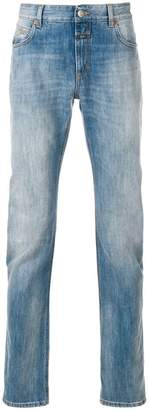 Closed faded straight-leg jeans
