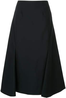 Enfold folded midi skirt