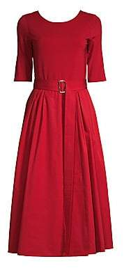 Max Mara Women's Affine Belted A-Line Dress