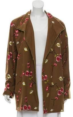 Balmain Wool Embroidery Jacket
