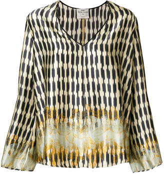 Forte Forte embroidered flared blouse